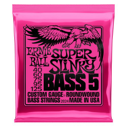 Ernie Ball BASS SUPER SLINK 5 STRING 40-125