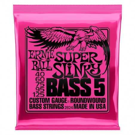 Ernie Ball BASS SUPER SLINK 5 STRING 40-125