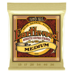 Ernie Ball EARTHWOOD MEDIUM 80/20 13-56