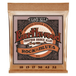Ernie Ball EARTHWOOD PHOS ROCK & BLUE 10-52