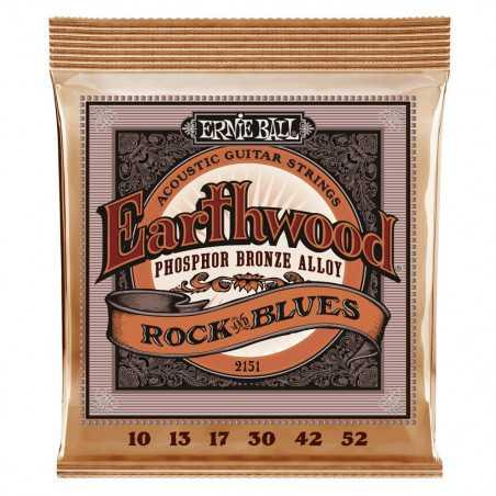 Ernie Ball EARTHWOOD PHOS ROCK & BLUE 10-52