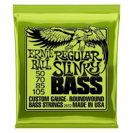 Ernie Ball BASS REGULAR SLINKY 50-105