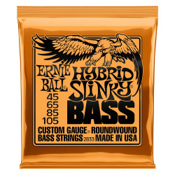 EB BASS HYBRID SLINKY 45-105