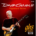 GHS GB-DGG David Gilmour Signature, Red Strings, 010 1/2-050