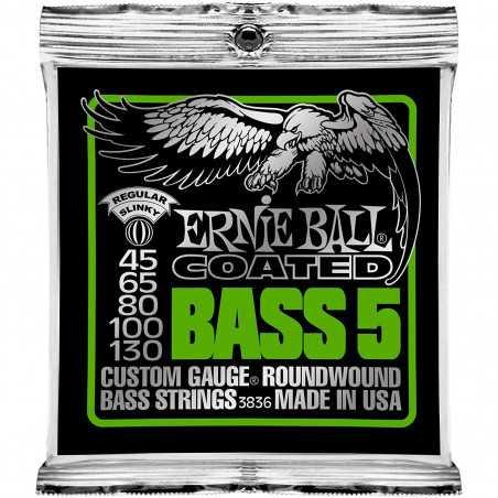 Ernie Ball COAT BASS 5 STR SLINKY 45-130