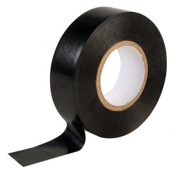 Black electrical tape 19mm x 20m