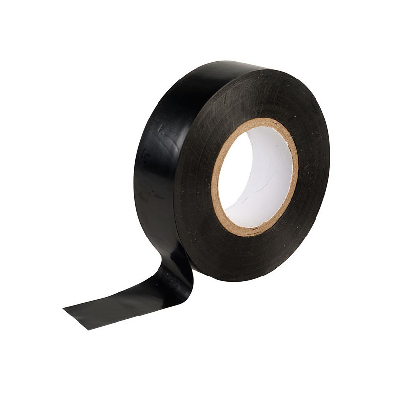 Black electrical tape 19mm x 20m X10
