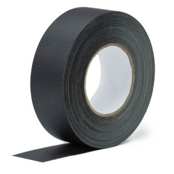 Black gaffer tape 48mm x 55mm (Camera tape)