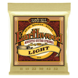 Ernie Ball EARTHWOOD LIGHT 80/20 11-52