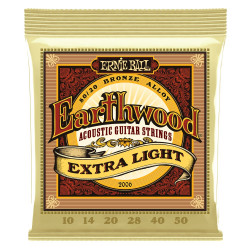 Ernie Ball EARTHWOOD XTRA LIGHT 80/20 10-50
