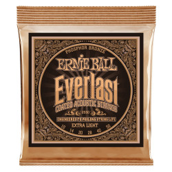 Ernie Ball EVERLAST PHOSPHOR EX LIGHT 10-50