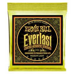 Ernie Ball EVERLAST 80/20 MED/LIG 12-54
