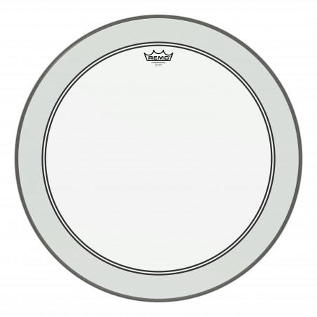 "Bass, POWERSTROKE® 3, Clear, 24"" Diameter, 2-1/2"" Impact Patch"