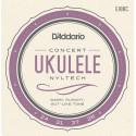 D'Addario EJ88C Nyltech Ukulele Strings, Concert