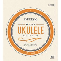 D'Addario EJ88UB Nyltech Ukulele Strings, Bass
