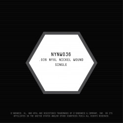 D'Addario NYXL Nickel Wound Electric Guitar Single String, .036