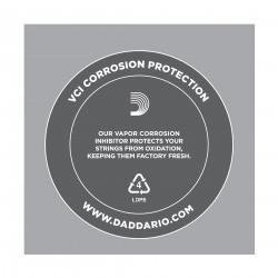 D'Addario PL018 Plain Steel Guitar Single String, .018