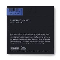 Nickel Plated Steel Electric Strings - .010-.052 - Med Top / Heavy Bottom