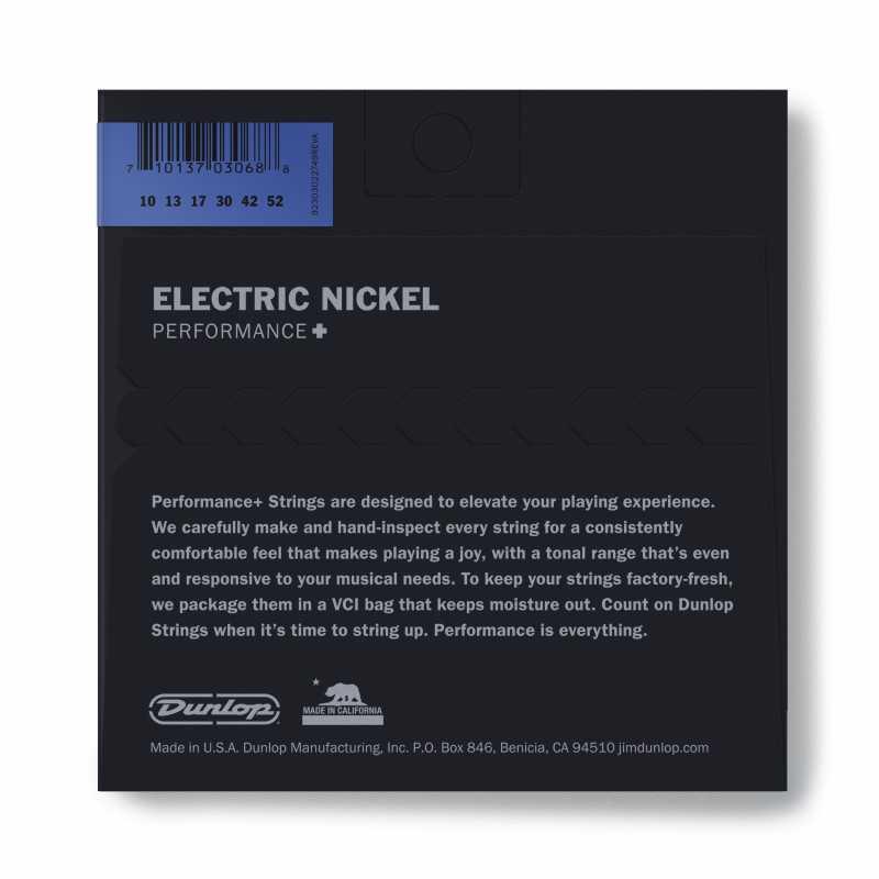 Cordes Électriques En Acier Nickelé - .010-.052 - Med Top / Bottom Heavy