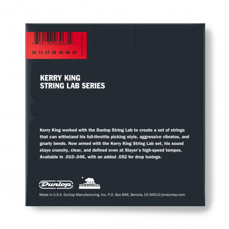 Dunlop KKN1052 Kerry King Guitar Strings, 7/Set