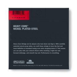 Heavy Core Electric Guitar Strings Set/6
