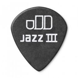 1.35mm Tortex® Pitch Black Jazz III Guitar Pick (12/pack)