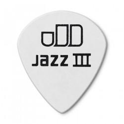 0.88mm Tortex® White Jazz III Guitar Pick (12/pack)