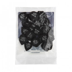 1.0mm Tortex® Pitch Black Jazz III Guitar Pick (72/bag)