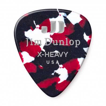 Dunlop 483P-06-XH Extra Heavy Celluloid Guitar Pick (12/Bag)