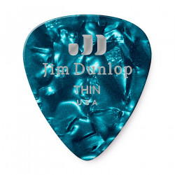 Thin Celluloid Guitar Pick (12/pack)