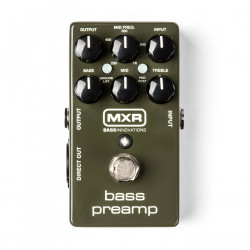 MXR® Bass Préampli
