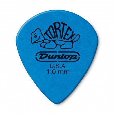 Dunlop 498R1.00 1.0mm Blue Tortex® Jazz III Xl Guitar Pick (72/pack)