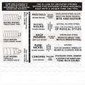 D'Addario EXL115 Nickel Wound Electric Guitar Strings, Medium/Blues-Jazz Rock, 11-49