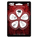 Planet Waves Joe Satriani Guitar Picks, White, 10 pack, Heavy