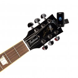 Eclipse Headstock Tuner, Black, by D'Addario
