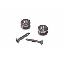 Planet Waves Solid Brass End Pins - Black (Pair)