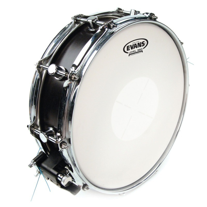 Evans Power Center Drum Head, 13 Inch