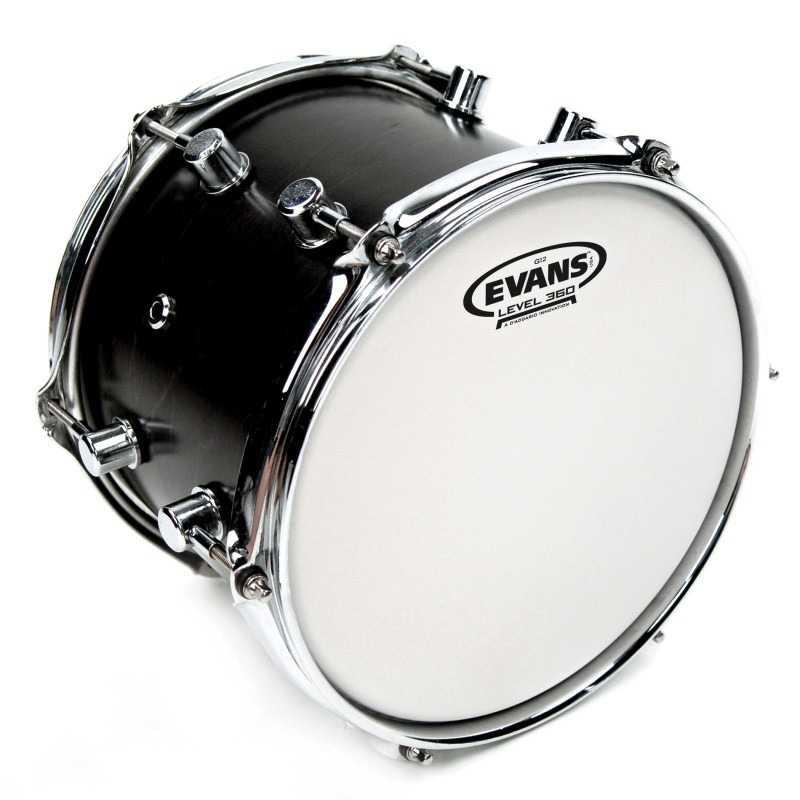 Evans G12 Coated White Drum Head, 18 Inch
