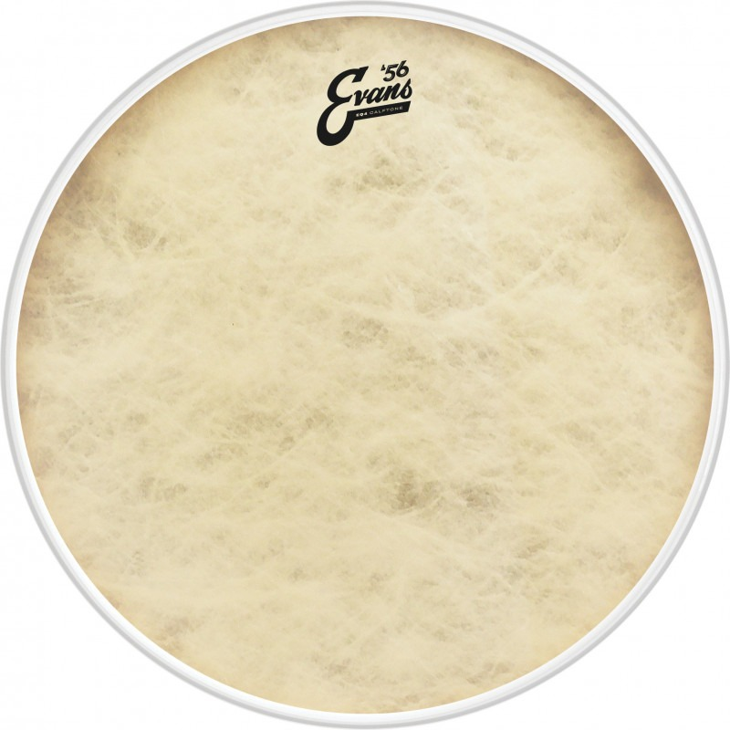 Evans EQ4 Calftone Bass Drum Head, 16 Inch