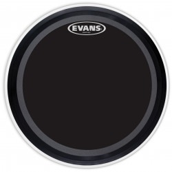 Evans EMAD Onyx Bass Drum Head, 18 Inch