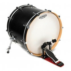 Evans EQ1 Coated Bass Drum Head, 18 Inch
