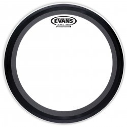 Evans EMAD Heavyweight Clear Bass Drum Head, 20 Inch