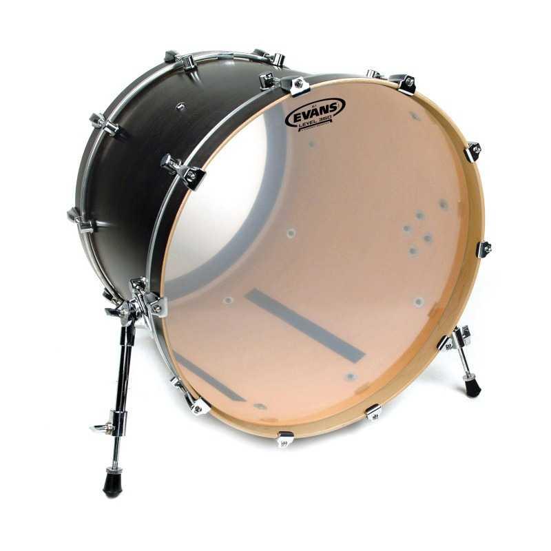 Evans G1 Clear Bass Drum Head, 20 Inch