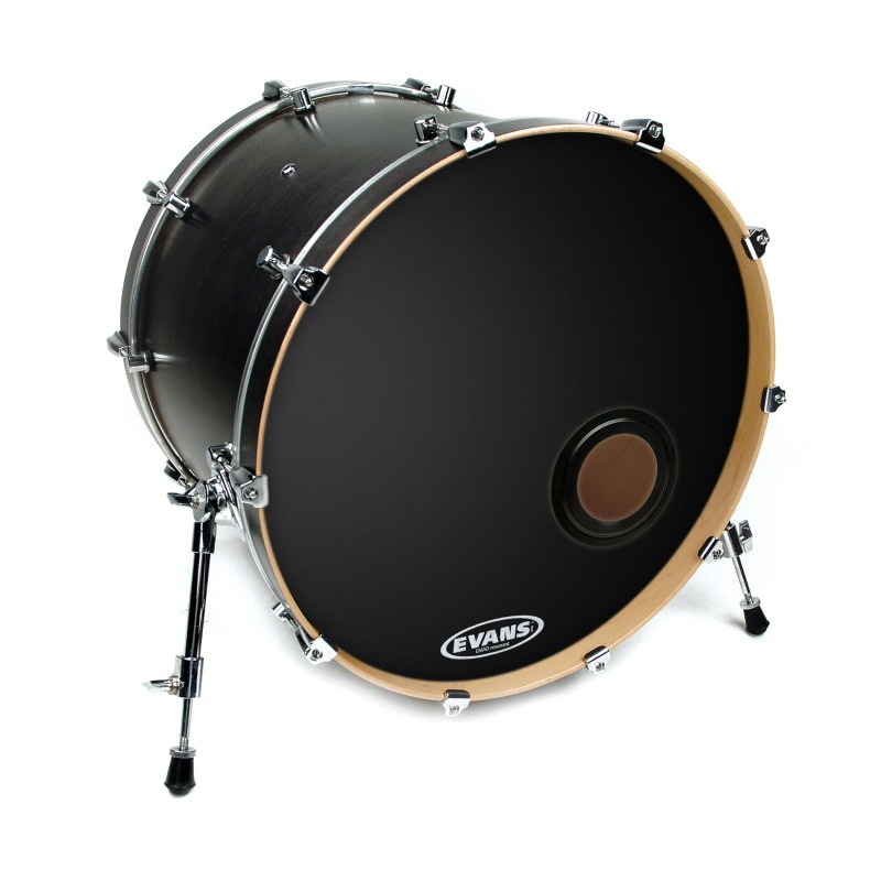 Evans REMAD Resonant Bass Drum Head, 20 Inch