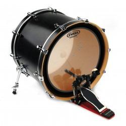 Evans EMAD Heavyweight Clear Bass Drum Head, 22 Inch