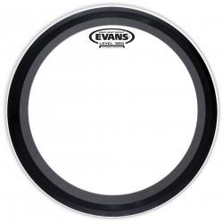 Evans EMAD Heavyweight Clear Bass Drum Head, 24 Inch