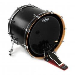 Evans EMAD Onyx Bass Drum Head, 24 Inch