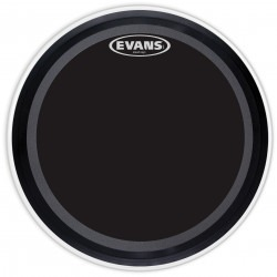 Evans EMAD Onyx Bass Drum Head, 24 Inch