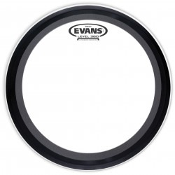 Evans EMAD Coated White Bass Drum Head, 26 Inch