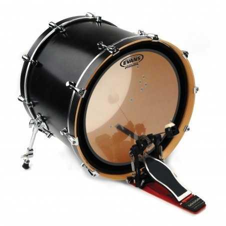 Evans EMAD Heavyweight Clear Bass Drum Head, 26 Inch